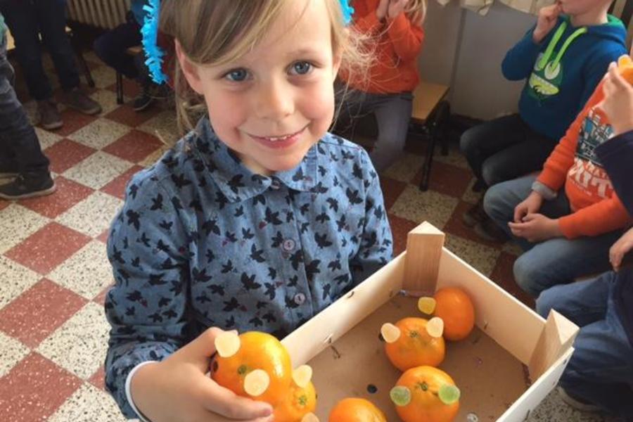 Lekkere mandarijnenkonijntjes